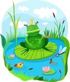 Frog.. — Stock Vector