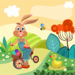 Vector de stock : Easter illustration