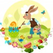 Easter illustration — Stockvectorbeeld