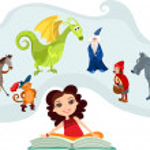 Fairy tale — Stock Vector