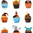 Muffins set — Stock Vector #30093339