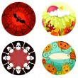 Halloween set — Stock Vector #30619219