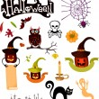 Halloween set — Stock Vector #31089307