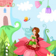 Stock Vector: Fairy