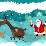 Christmas card — Stock Vector #7294002