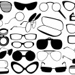 Different eyeglasses — Stock Vector #13590996