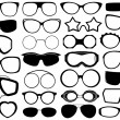 Different eyeglasses isolated — Stock Vector #14391969