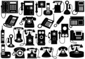Phone set — Stock Vector