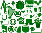 Saint Patrick's Day Elements — Stock Vector