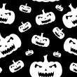 Vector de stock : Seamless Halloween Background