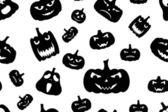 Seamless Halloween Background — Stok Vektör