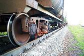 Tank Vessel Wheel — Stock Photo