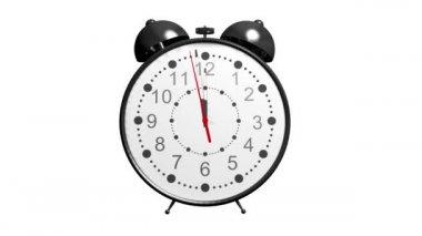 目覚まし時計 — ストックビデオ