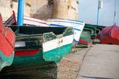 Immagine di una barca da pesca in marocco — Foto Stock