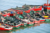 Image of a fishing boat in Morocco — Stockfoto