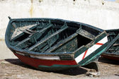 Image of a fishing boat in Morocco — Foto de Stock