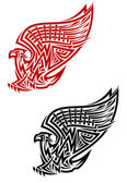Griffin symbol in celtic style — Stock Vector