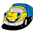 Royalty-Free Stock Vector Image: Smiling truck