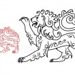 Royalty-Free Stock Vector Image: Vintage royal lion