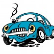Royalty-Free Stock Vector Image: Broken car