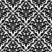 Seamless pattern in damask style — Stock Vector