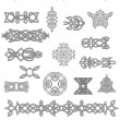 Celtic ornaments and embellishments — Stock Vector