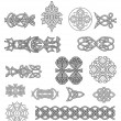 Stock Vector: Celtic ornaments and patterns