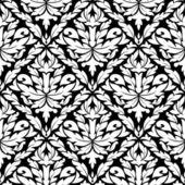花のシームレスなダマスク — ストックベクタ