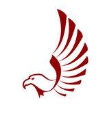 Eagle or falcon — Stock Vector