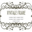 Vintage frame - Stockvektor