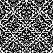Royalty-Free Stock Vector Image: Damask vintage seamless pattern background