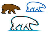 Wild bears — Stock Vector
