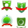 Stock Vector: Golf emblems and symbols