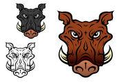 Wild boar or hog — Stock Vector