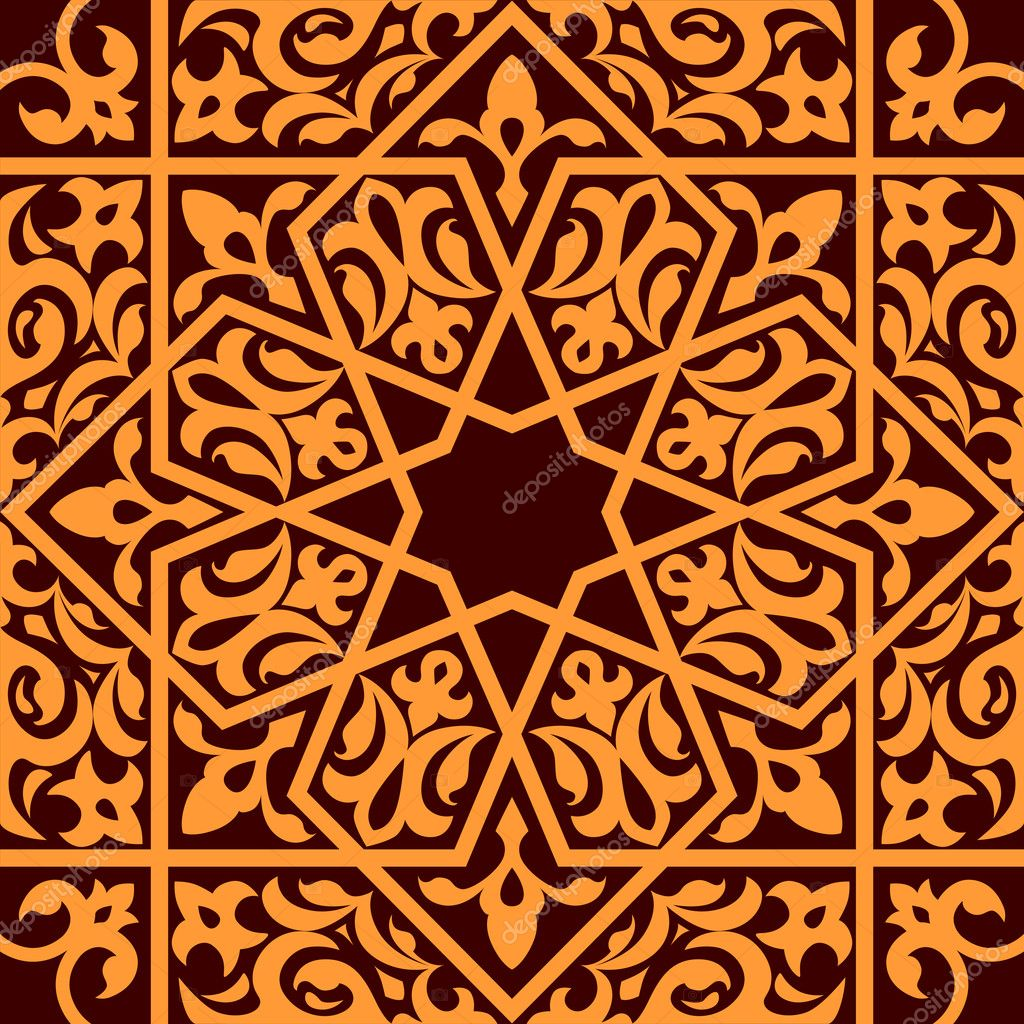 Islamic Ornaments Wallpaper Islamic Seamless Ornament