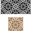 Stock Vector: Arabic seamless ornament in retro style