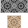 Arabic seamless ornament in retro style — Stock Vector
