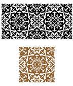 Arabic seamless ornament in retro style — Stock Vector