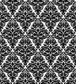 Bezešvé pozadí v damaškových stylu — Stock vektor