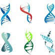 DNA and molecules — Stock Vector #26542271