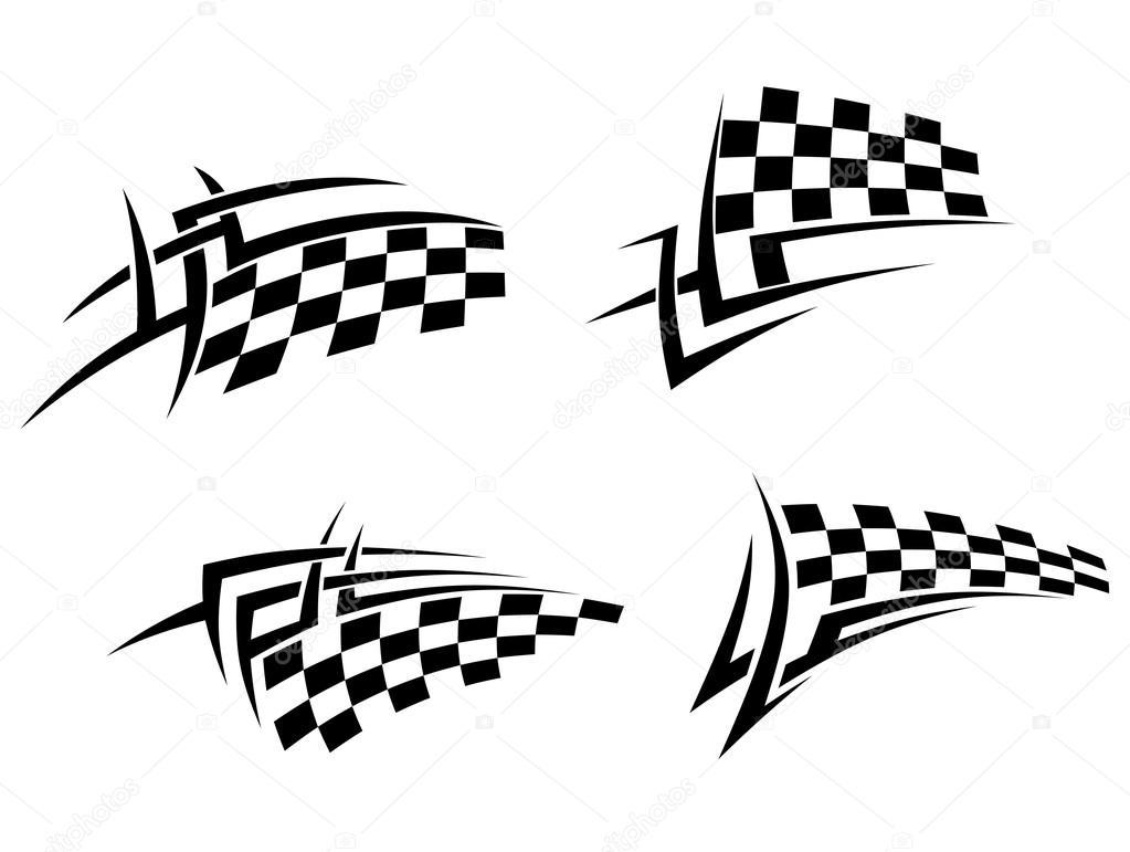 Tribal-Tattoos depositphotos_26854219-stock-illustration-tribal-tattoo-with-racing-flag
