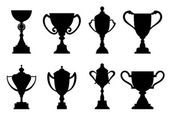 Sport trophies and awards — ストックベクタ