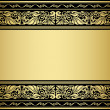 Stock Vector: Gilded ornmaments and patterns