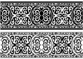 Ornamento árabe o persa — Vector de stock