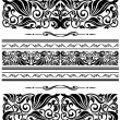 Stock Vector: Decorative ornaments and patterns