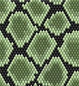 Gröna sömlös orm hud mönster — Stockvektor