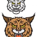 Lynx mascot — Stock Vector #28953457