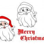 Funny Santa Claus — Stock Vector