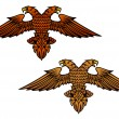 Double headed eagle — Stock Vector