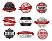 Etiketten für design — Stockvektor